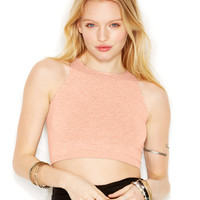 Free People Seamless High-Neck Crop Top