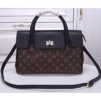 LV Louis Vuitton WOMEN'S TOP MONOGRAM LEATHER HANDBAG SHOULDER BAG
