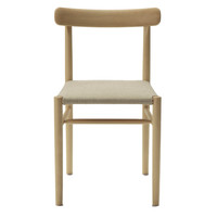 LIGHTWOOD ARMLESS CHAIR / CUSHIONED STEAT