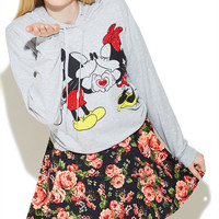 Mickey & Minnie Smooch Sweatshirt | Wet Seal