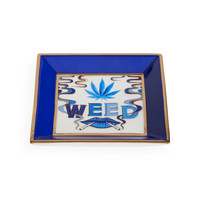Jonathan Adler Druggist Weed Square Tray
