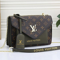 LV Louis Vuitton Artsy printed letters shopping bag handbag shoulder bag