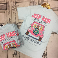Simply Southern Jeep Hair Don't Care T-Shirt