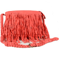 Watermelon Tassels Zipper Bag