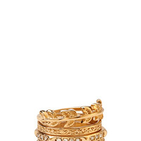 Simply Stated Ring Set