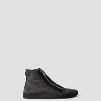 Mens Equip Hi Top (Washed Black) | ALLSAINTS.com