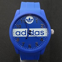 ADIDAS tide brand men and women fashion tape watch F-SBHY-WSL Blue
