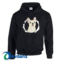 Funny French Bulldog Hoodie Unisex Adult Size S to 3XL