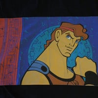 90's Disney's Hercules Pillow Case