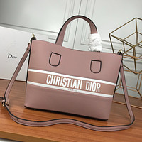 DIOR WOMEN'S LEATHER HANDBAG INCLINED SHOULDER BAG