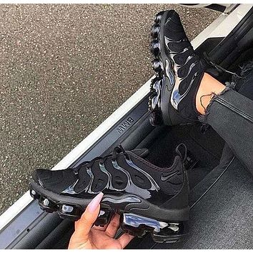Nike Air Vapormax Plus Triple White Running Sneakers Sport Shoes-1