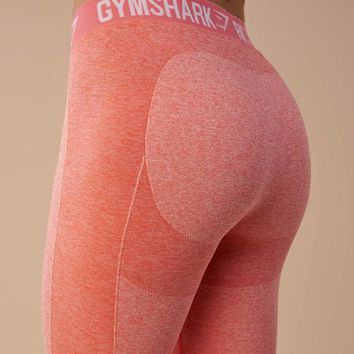 Gymshark Flex Leggings - Peach Coral