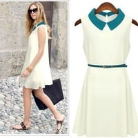SOPHISTICATED GIRL VINTAGE STYLE DAY DRESS