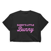 Little Bunny Yes Daddy DDLG Clothing Daddy Dom Little BDSM Adult Pacifier Onesuit Collar Choker Baby Girl Princess Pastel Goth Crop Top