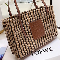 Loewe New fashion weave shoulder bag handbag