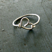 Sterling Silver Heart Ring Best Friends Gifts Girl Friend gifts Sorority Gifts
