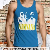 Nirvana Legend Band Men Tanktop - Lzi Tanktop For Men  / Custom - Tanktop / Men Tanktop