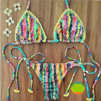 Push Up Summer Swimsuits Bikini Set