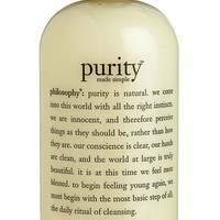 philosophy 'purity made simple' one-step facial cleanser,