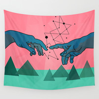 cool Wall Tapestry by Mark Ashkenazi