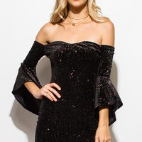 The New Year Velvet Shimmer Dress
