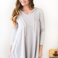 Falling All Over Again Tunic Hoodie