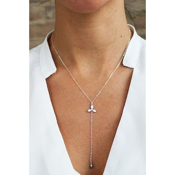 Blossoms Lariat Y Necklace - Christine Elizabeth Jewelry