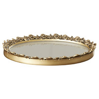 House of Hampton Somerton Antique Mirror Serving Tray