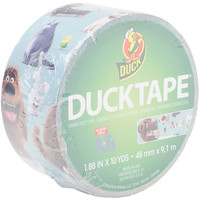 """NEW! Licensed Duck Tape 1.88""""""""X10yd-Secret Life Of Pets"""