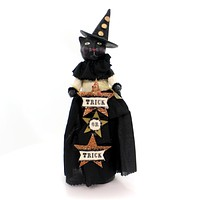 Halloween TABITHA Polyresin Trick Or Treat 55113