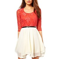 Little Hand Womens Casual Prom Sexy Short Lace Party Bodycon Slim Dress