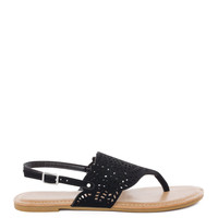 Leilani Sandal in Black