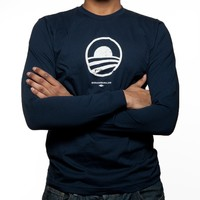 Obama for America | 2012 | Store | Obama Rising Sun Long Sleeve T - Essentials