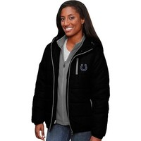 Pro Line Ladies Indianapolis Colts Ascender Puff 3-in-1 Systems Jacket