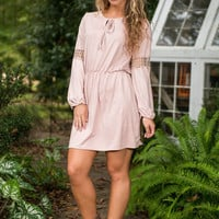 Soft At Heart Dress, Blush