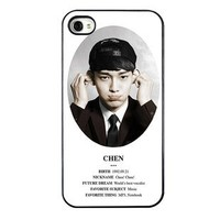 KPOP EXO MEMBER XOXO IPHONE4 CASE (CHEN)