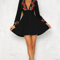 Something About Love Dress Black