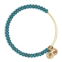 Aqua  Luminary Beaded Bracelet | Alex and Ani