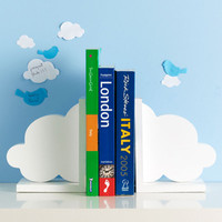 In The Clouds Bookend - Set of 2