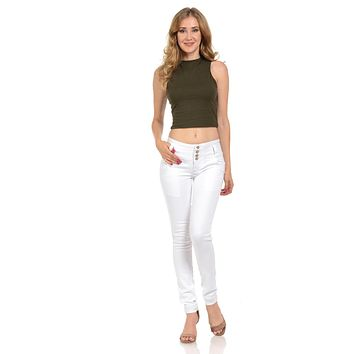M.Michel Women's Jeans Colombian Design, Butt Lift, Levanta Cola, Push Up - Skinny - Style A10011