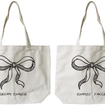 Dream & Chance BFF Canvas Bags