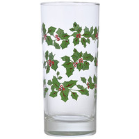 Bulk Holly Berry Clear Glass Coolers at DollarTree.com