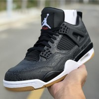 "Air Jordan 4 SE Laser ""Black Gum"" AJ4 Sneakers - Best Deal Online"