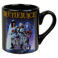 Beetlejuice Movie Poster Mug - Silver Buffalo - Beetlejuice - Mugs at Entertainment Earth