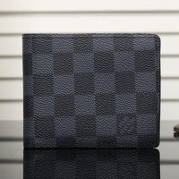 DCCK7HE Perfect LV Man Leather Purse Wallet