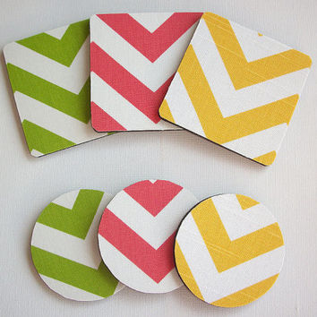 Matching COASTER for Mouse Pads  - Pick your own pattern