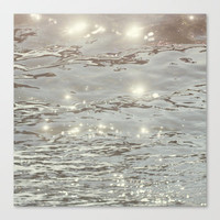 C'est La Vie II Stretched Canvas by Christine Hall