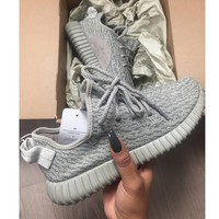 Adidas Women Yeezy Boost Sneakers Running Sports Shoes I-1