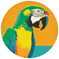 Anderson Design Group's Parrot Circle Decal