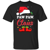 Santa Paw Paw Claus Matching Family Pajamas Christmas Gifts
